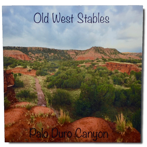 Old West Stables Fridge Magnet