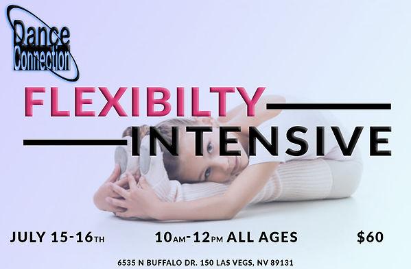 flexibility intensive dance camp las vegas