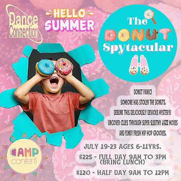 Dance Camp las vegas Summer