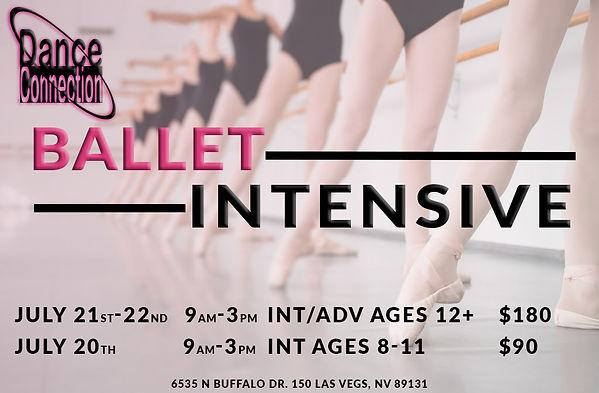 ballet intensive camp las vegas