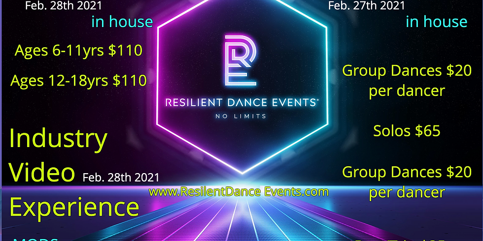 Resilient Dance Event Feb. 27 and 28th