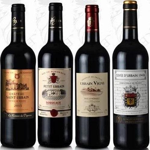 FW0005 法國紅酒 4支套裝