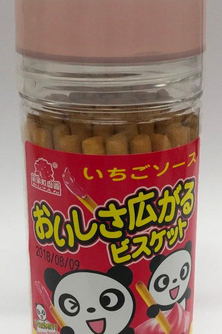 AJI488菓子町士多啤梨醬棒棒餅欣欣杯 135g + 45g