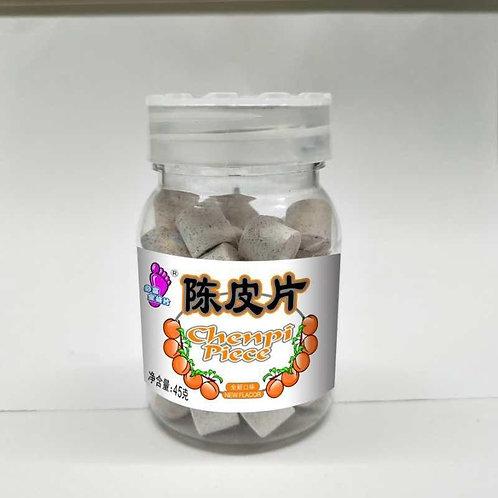 BBF0002Chenpi Piece 陳皮片 45g