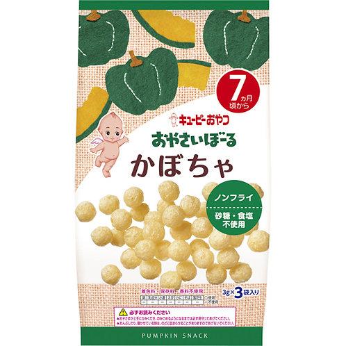 F13995 Kewpie 丘比波波小食 - 南瓜味 ( 7個月以上嬰孩適用 ) 3gx3