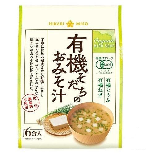 F14011 Hikari Miso 有機味噌湯 ( 6食入 ) 102g