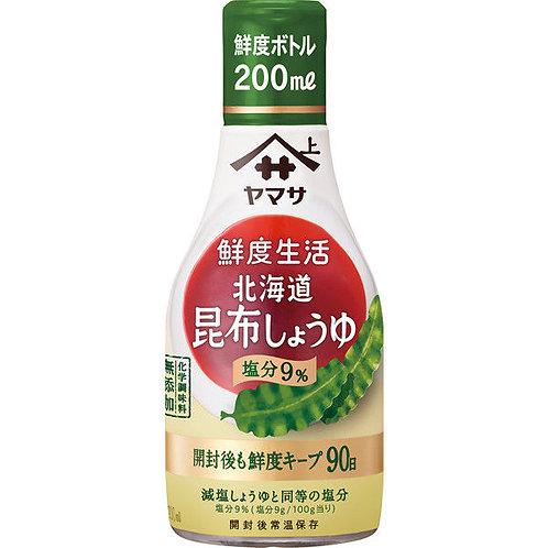 F14126 Yamasa 鮮度生活北海道昆布減鹽醬油 200ml 2pcs