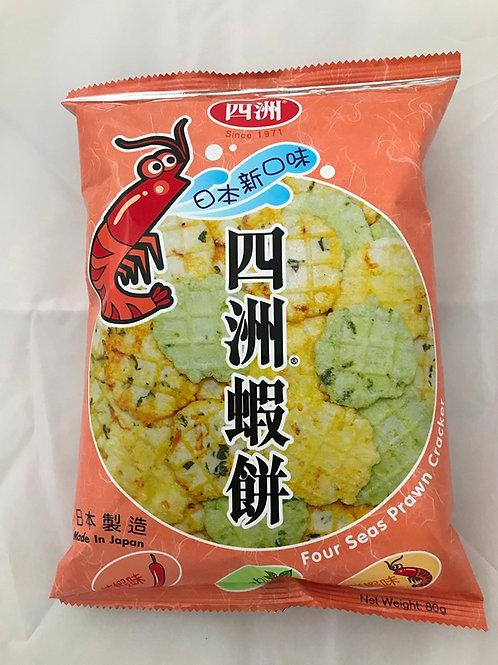 FS0203  四洲雜錦蝦餅 80g
