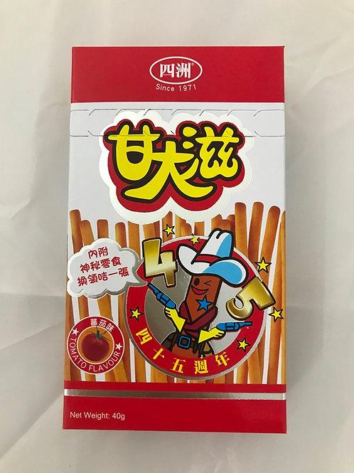 FS0199  四洲甘大滋盒裝(蕃茄味) 40g