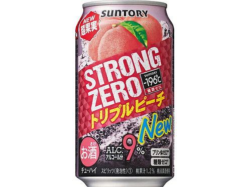 F13243 Suntory 新得利超果實水蜜桃高度超 Hi (酒精度 9%) 350ml
