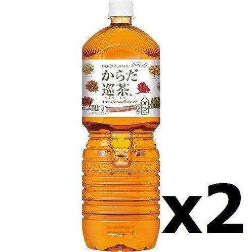 F13981 Coca Cola 日本可樂體內巡茶 2L 2pcs