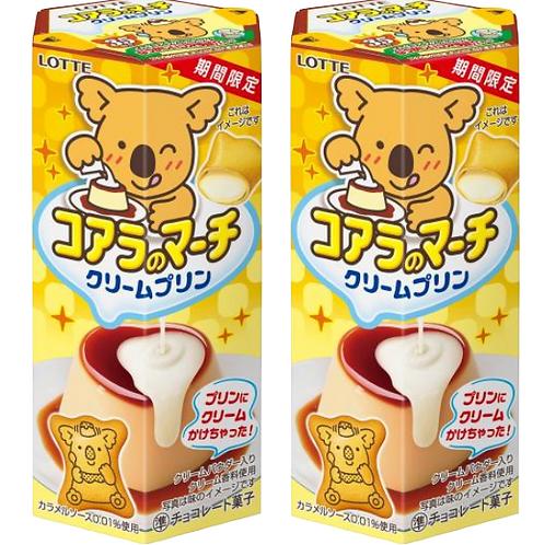 F12549_2 樂天日本熊仔餅 (忌廉布丁味) 48g (2個裝)