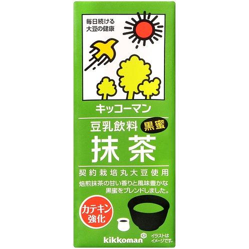 F14043 Kikkoman 抹茶味豆乳 200ml 3pcs