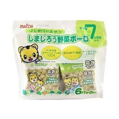 F10110 前田 6包裝野菜小饅頭 84g