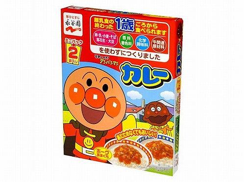 F11206 永谷園麵包超人咖喱 2 食入(甘口)(適合一歲以上兒童) 100g