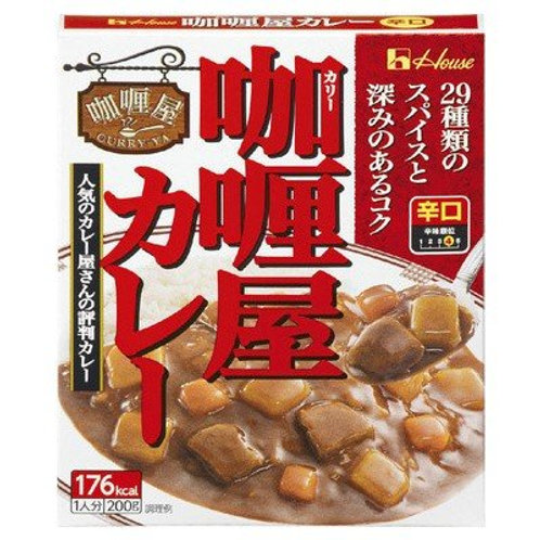 F12506 日版屋牌辛口咖喱汁 (大辣) 200g