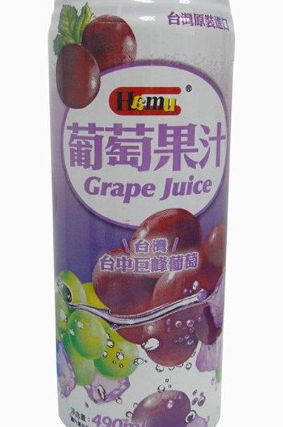 AJI336Hamu 葡萄果汁飲料 490ml