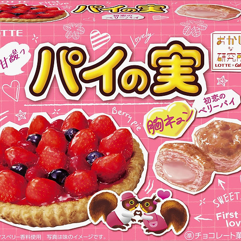 F13926 Lotte 樂天野莓撻夾心批 69g 2pcs