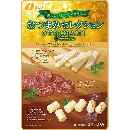 F12073 納多利 3 味芝士沙樂美腸小食 60g