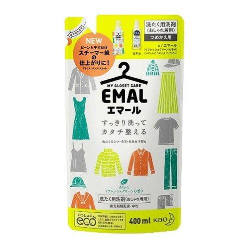 HW0033 Kao 花王綠色清香定型洗衣液補充裝 400ml