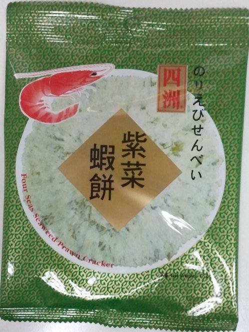 FS0035_5四洲 紫菜脆脆蝦餅 15g (5包裝)