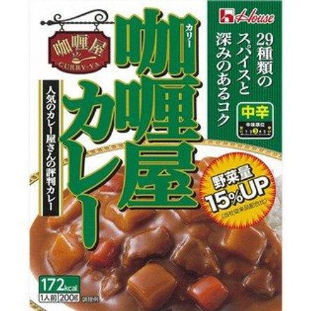 F12507 日版屋牌中辛咖喱汁 (中辣) 200g