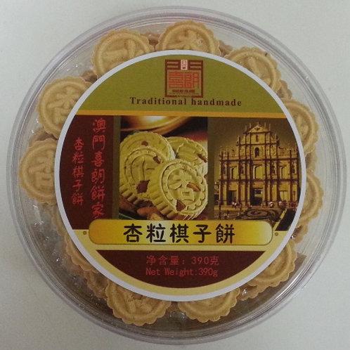 ZH0197棋子粒粒杏仁餅 390g