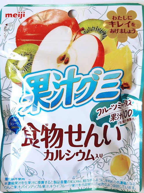 F13742 Meiji 明治雜果汁軟糖 68g (2pcs)