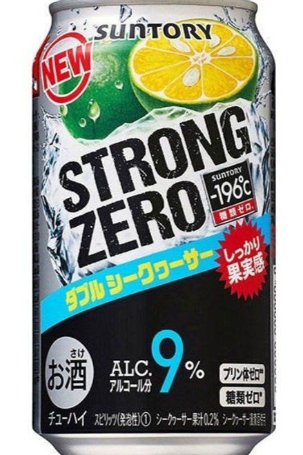 copy of F14189 Suntory STRONG 雙重沖繩柑桔超 Hi (酒精度 9%) 350ml 3pcs