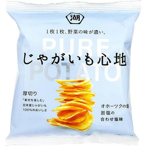 F12916 Koikeya 湖池屋厚切岩鹽薯片 58g