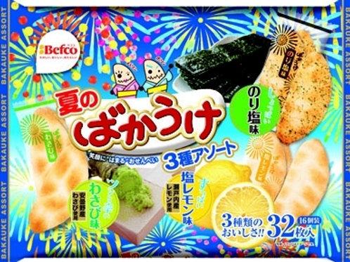 F12747 栗山夏日雜錦米餅 32's
