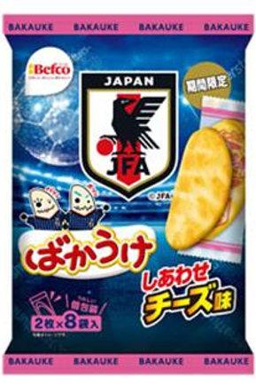 F12732 Kuriyama  栗山限量版日本足國代表芝士米餅 16's