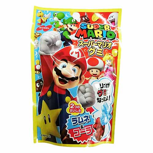 F12674_2 Nobel 樂寶 Super Mario 2 味汽水軟糖 45g (2包裝)