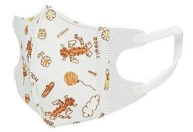 日本迪士尼維尼熊兒童口罩 mask 1-3 歲用 20 枚