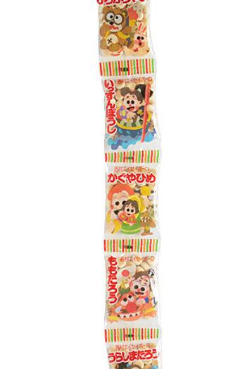 F10369 Nishimura 西村兒童卡通 5 連小饅頭 75g 2pcs