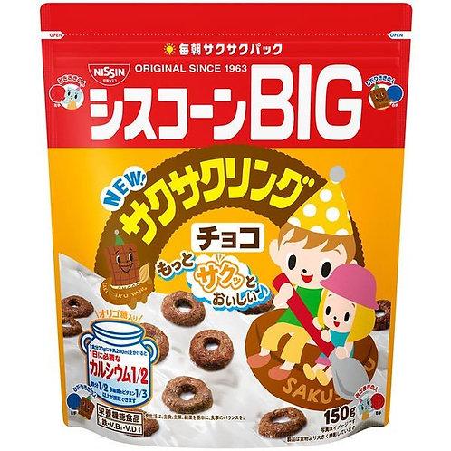F13784 Nisshin 日清 BIG 朱古力味粟米片 150g