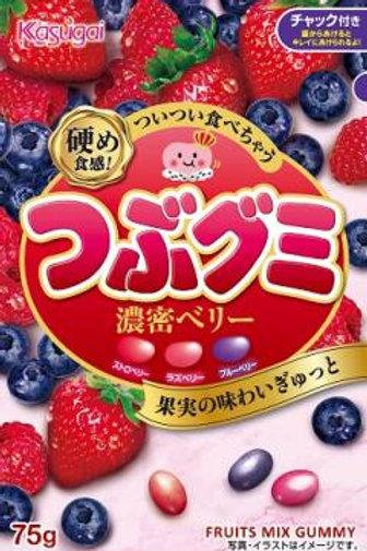 F13787 Kasugai 春日井特濃野莓腰豆軟糖 75g x(3pcs)