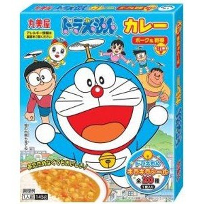 F12776 丸美屋多啦A夢野菜甘口兒童咖喱 (貼紙入)(唔辣) 145g