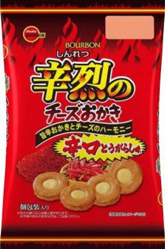F12938 Cheese Okaki 21's 百邦辛烈芝士米菓 21's