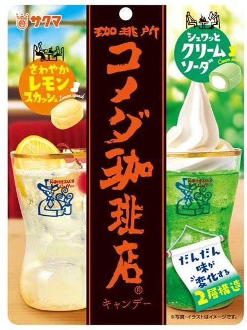 F14166 Sakuma 莎果瑪咖啡店 2 味特飲雙層夾心糖 67g 2pcs