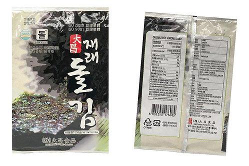 DC020 韓國大昌原味海苔 20g (50包)