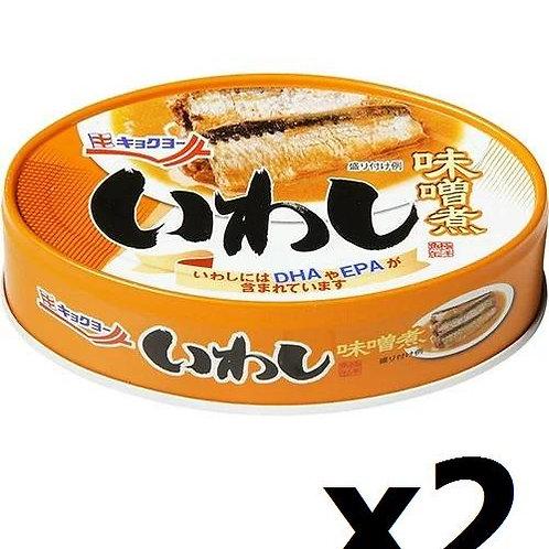 F13991 Kyokuyo 極洋味噌煮沙甸魚罐裝 100g 2pcs (泰國產)