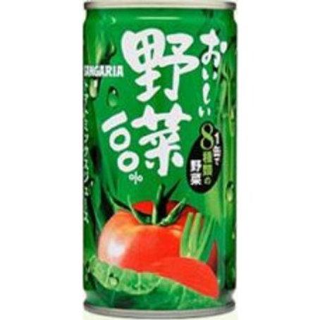 F8154 新加利亞百分百野菜汁 190g 健康飲品