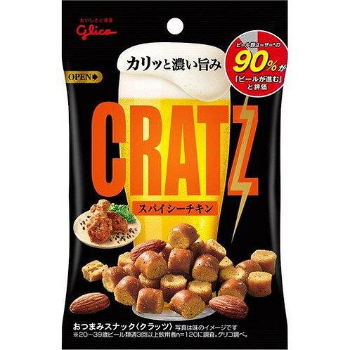 F13011_2固力果 CRATZ 炸雞杏仁脆口小食 42g (2包裝)
