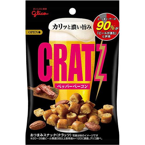 F13969 Glico 固力果胡椒燒肉味餸啤酒杏仁小食 42g 3pcs