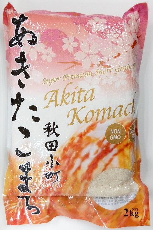 F13992 Akita Komachi秋田小町真空包裝 (珍珠米) 2kg  (越南產)