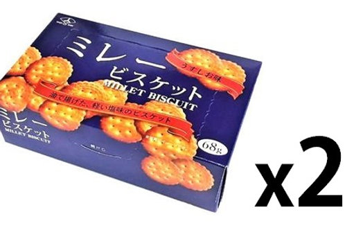 F13084_2 Mitsuya三箭咸味小圓餅 68g (2盒裝)4902745912739