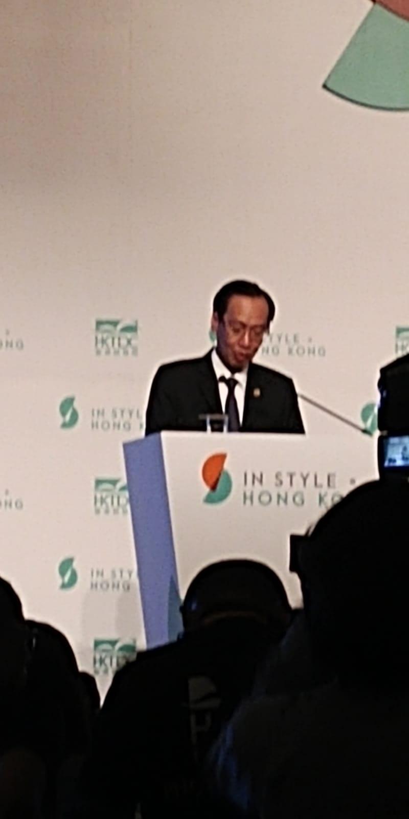 越南政府副總書記於開幕禮致詞