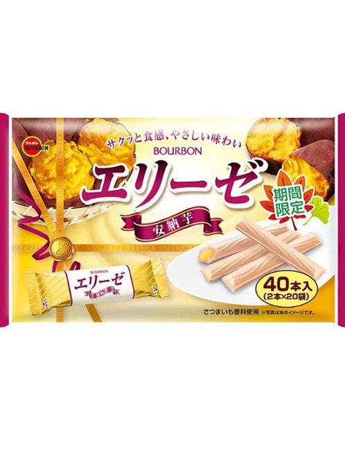 F12041 百邦安納芋蕃薯忌廉威化卷 40's