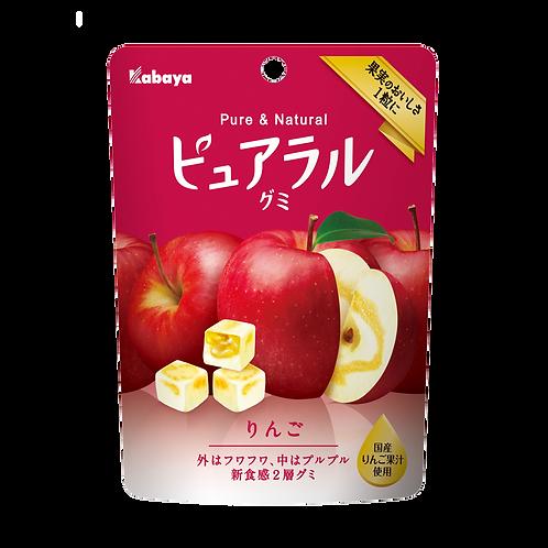 F10418_2 Kabaya 卡巴也雙層食感蘋果軟糖 45g (2包裝)